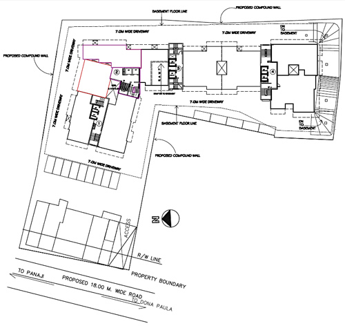 site plan kamat galaxy